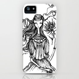 Towards the Light of Love iPhone Case