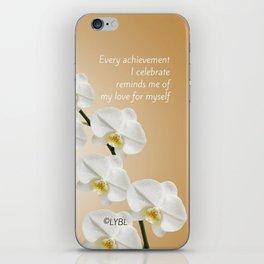 Love Yourself Celebrate iPhone Skin