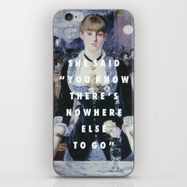 Run to the Folies-Bergere iPhone Skin