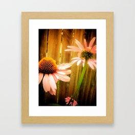 Child Of The Flowers Framed Art Print