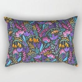 Wonderland Flower Pattern Rectangular Pillow