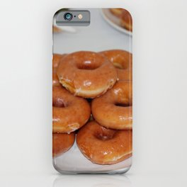 Glazed Donuts iPhone Case