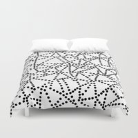 dots Duvet Covers featuring Dots by Project M