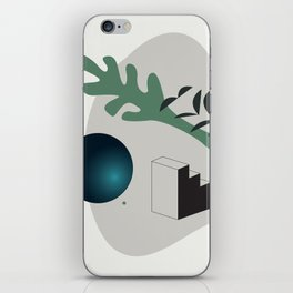 Shape study #7 - Synthesis Collection iPhone Skin
