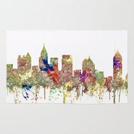 Atlanta, Georgia Skyline SG - Faded Glory Rug