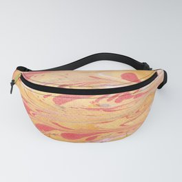 Yellow Marble Fanny Pack