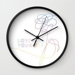 BTS Love Yourself Her O Version Wall Clock