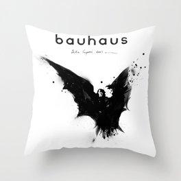 Bela Lugosi's Dead Throw Pillow