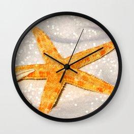 starfish 1 Wall Clock