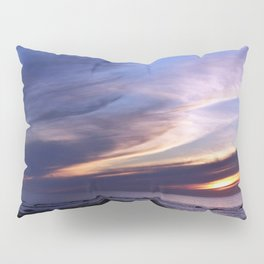 Feathered Clouds at Sunset Pillow Sham