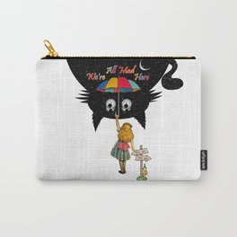 Wonderland - Cheshire Cat Night Madness Carry-All Pouch