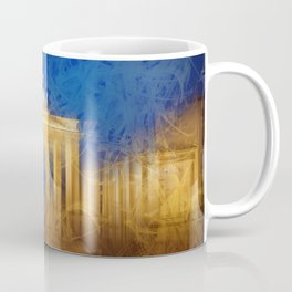 Modern Art BERLIN Brandenburg Gate Coffee Mug