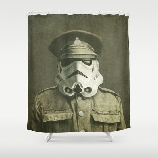 Sgt. Stormley  Shower Curtain