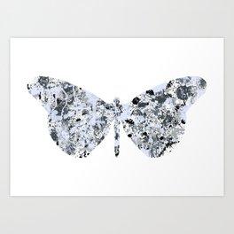Burly Butterfly Art Print
