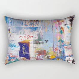It's opener out there in the wide open air Rectangular Pillow