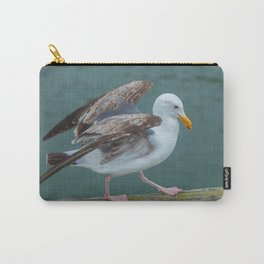 Walking Gull Carry-All Pouch