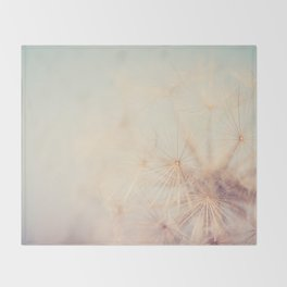 dandelion dreams .... Throw Blanket