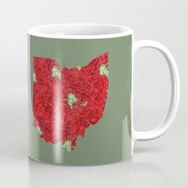 Ohio in Flowers Coffee Mug