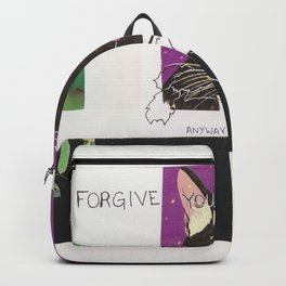 forgive yourself anyway Backpack