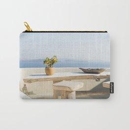 Santorini, Greece #society6 #decor #buyart Carry-All Pouch