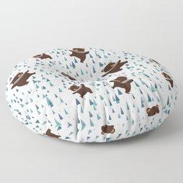 Dancing Bears Floor Pillow