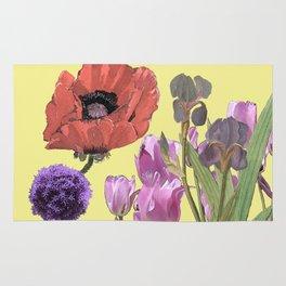 Floral fantasies Rug