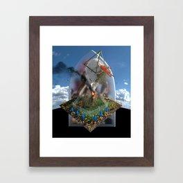 Odd Gods Before Our Eyes Framed Art Print