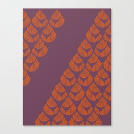 Orange Drops Canvas Print
