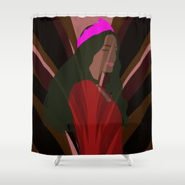 The bride wore d & g Shower Curtain
