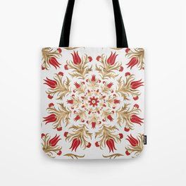 Turkish tulip - Ottoman tile 2 Tote Bag