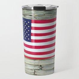 Upstate American Flag Travel Mug
