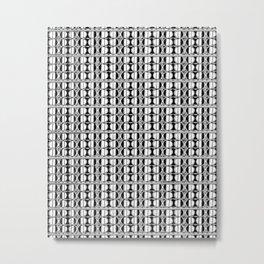 Dot Exposure Metal Print