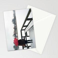 Copenhagen - Red Umbrella Stationery Cards