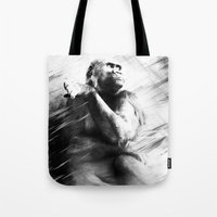 ape Tote Bags featuring APE by A-HG