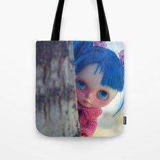 Little naughty girl Blythe Tote Bag