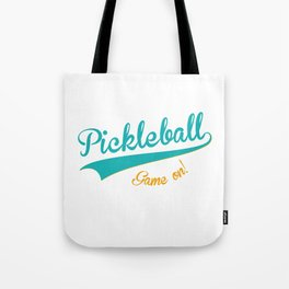 Pickleball Old School Game On Tote Bag
