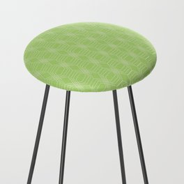 hopscotch-hex bright green Counter Stool