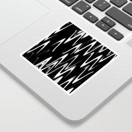 WAVY #1 (Black & White) Sticker
