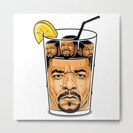 Ice T & Ice Cube Metal Print