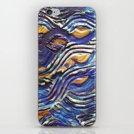 Abstract nautical background iPhone Skin