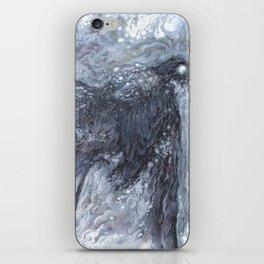 The Bearded Crow iPhone Skin