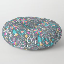 Flowers & STEMs Floor Pillow