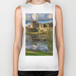 Caerphilly Castle Moat Biker Tank