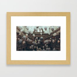 Hang your head up high Framed Art Print
