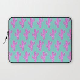 Linocut Cacti Blink Laptop Sleeve