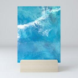 Teal Waters Mini Art Print