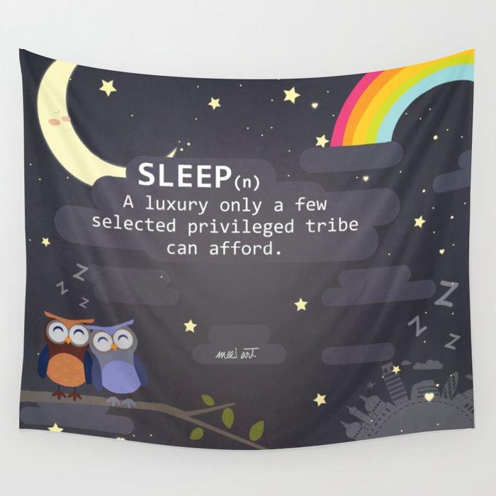 Sleep ~ A Luxury Wall Tapestry