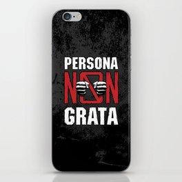 Persona Non Grata iPhone Skin