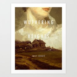 19th Century Women Writers - Wuthering Heights Art Print