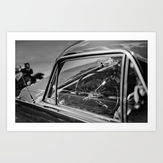 Car Cockpit 01 Art Print